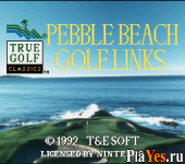 онлайн игра Pebble Beach Golf Links