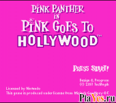 онлайн игра Pink Panther in Pink Goes to Hollywood