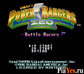 Power Rangers Zeo - Battle Racers