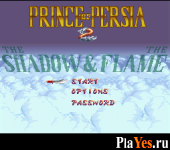 онлайн игра Prince of Persia 2 - The Shadow amp The Flame