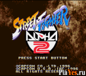 онлайн игра Street Fighter Alpha 2