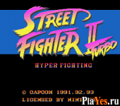 онлайн игра Street Fighter II Turbo - Hyper Fighting