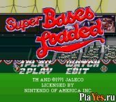 онлайн игра Super Bases Loaded