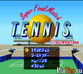 онлайн игра Super Final Match Tennis