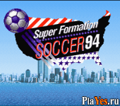 онлайн игра Super Formation Soccer 94 - 94 World Cup Final Data