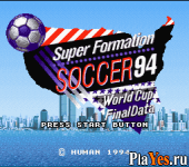 Super Formation Soccer 94 - 94 World Cup Final Data