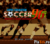 онлайн игра Super Formation Soccer 96 - World Club Edition