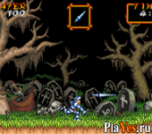 онлайн игра Super Ghouls'n Ghosts