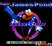онлайн игра Super James Pond