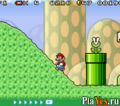 онлайн игра Super Mario Advance 4 - Super Mario 3 + Mario Brothers