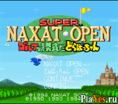 онлайн игра Super Naxat Open - Golf de Shoubu da! Dorabocchan