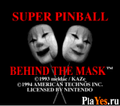 Super Pinball - Behind the Mask