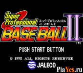 онлайн игра Super Professional Baseball II