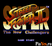 онлайн игра Super Street Fighter II - The New Challengers