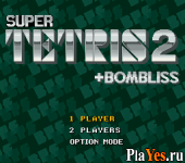 онлайн игра Super Tetris 2 - Bombliss