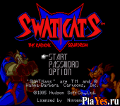 онлайн игра SWAT Kats - The Radical Squadron