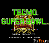 онлайн игра Tecmo Super Bowl
