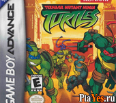 онлайн игра Teenage Mutant Ninja Turtles