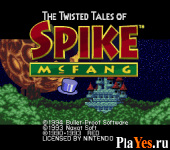 онлайн игра Twisted Tales of Spike McFang The