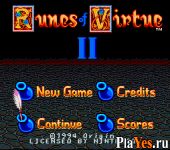 онлайн игра Ultima - Runes of Virtue II