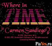 онлайн игра Where in Time is Carmen Sandiego