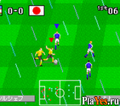 онлайн игра World Advance Soccer - Shouri heno Michi