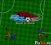 онлайн игра World Soccer 94 - Road to Glory