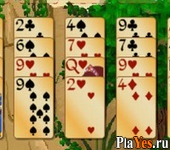 онлайн игра Forty Thieves Solitaire Gold