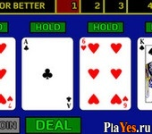 онлайн игра Jacks or Better Video Poker