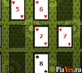 онлайн игра Poker Square Solitaire