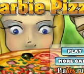 онлайн игра Барби пицца / Barbie Pizza
