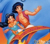 ������ ���� Aladdin Online Coloring