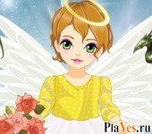 онлайн игра Baby Angel Dress-Up