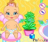 онлайн игра Baby Bathing:Time to Sleep