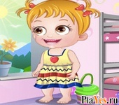 онлайн игра Baby Hazel Craft Time