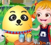 онлайн игра Baby Hazel Easter Fun