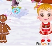 онлайн игра Baby Hazel Gingerbread House