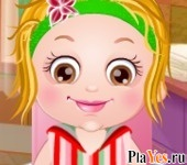 онлайн игра Baby Hazel Spa Makeover