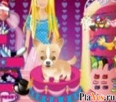 онлайн игра Barbie and her Cute Dog