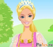 онлайн игра Barbie as Rapunzel