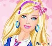 онлайн игра Barbie at School Dress-Up