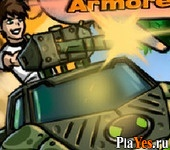 ������ ���� Ben 10 Armored Attack 2