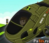 онлайн игра Ben10 Speed Racer