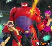 онлайн игра Big Hero 6 Jigsaw Puzzle