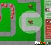 онлайн игра Bloons Tower Defense