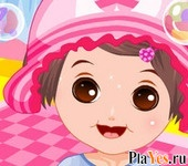 онлайн игра Bubble Baby Dress Up