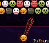 онлайн игра Bubble Hit: Halloween