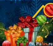 онлайн игра Bubble Shooter Christmas Pack
