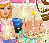 онлайн игра Cake For Barbie