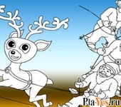 ������ ���� Christmas Coloring 4